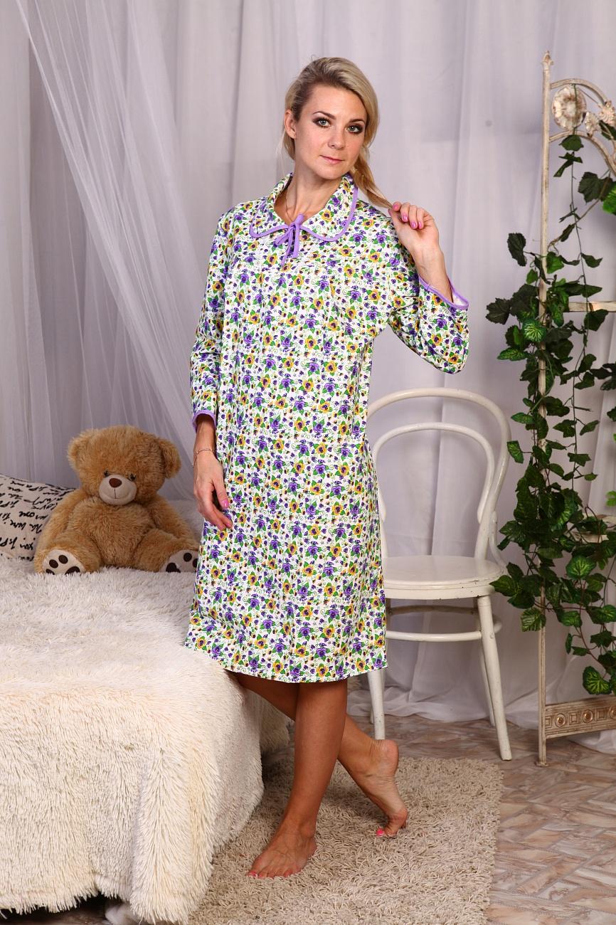 Ночная сорочка Ирина Розовая